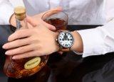 3eyesの方法多機能の腕時計の大きいダイヤルおよび人のための補助機関車