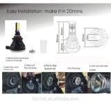 melhoramento automotriz 6000k do farol 12V do diodo emissor de luz do feixe do carro do jogo do farol da lâmpada do diodo emissor de luz do CREE Hb3 de 80W 8000lm 9005