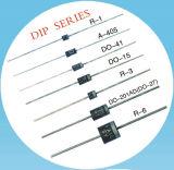 Случай Her157 диода выпрямителя тока 1.5A 1000V Do-15