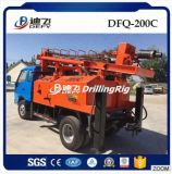 Eaux souterraines montées par camion de Dfq-200c extrayant la plate-forme de forage rotatoire