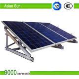 太陽光起電地上の太陽取付金具