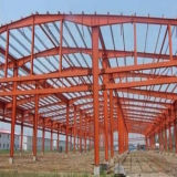 Здание изготовления стальной структуры стальное
