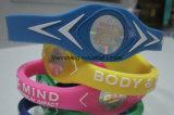 BPA liberano il Wristband poco costoso del silicone del braccialetto del silicone