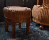 Tamborete de madeira contínuo (M-X2129)