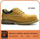 Ботинки безопасности Sc-8826 Goodyear Welted пальца ноги Saicou анти- статические стальные
