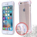Cas résistant aux chocs antichoc de téléphone cellulaire de l'espace libre TPU de Shackproof pour la couverture mobile de l'iPhone 6/6s