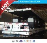 40 ' 2개의 차축 평상형 트레일러 높은 플래트홈 세미트레일러 또는 반 평상형 트레일러 트럭 트레일러