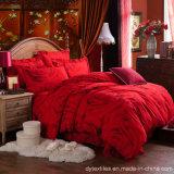 熱い販売の100%年の綿の簡単でロマンチックな結婚式のベッドセット