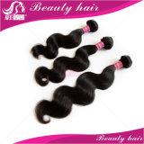 7abrazilianバージンの毛ボディ波の柔らかい人間の毛髪の拡張3PCS加工されていないバージンのブラジルの毛の織り方の束の人間の毛髪の織り方