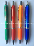 로고 펜 (P3010A)를 인쇄하는 Ballpen 플라스틱 고무 펜 선전용 펜
