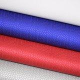織り方の編むバスケットの軽い音総合的なPUの革製バッグの靴革