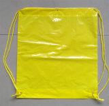 Rucksackdrawstring-Beutel mit gestempelschnitten für Gebirgsdas klettern (FLS-8226)