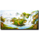 Оптовая Handmade картина маслом ландшафта на холстине, картине украшения гостиницы, домашней картине украшения