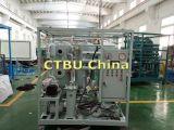 Água emulsionada do petróleo da turbina que separa a máquina