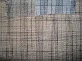 Tessuto a più linee dell'assegno del vestito di Polyeter delle lane
