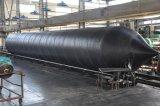 Bolsa a ar de borracha inflável marinha para o salvamento, balão de ar marinho, saco inflável dos rolos