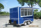 Chariot mobile remorquable mobile conçu neuf de nourriture avec du ce