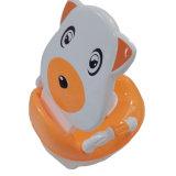 Assento Potty do bebê plástico encantador com braço (TS-1602)