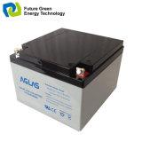 wartungsfreie Leitungskabel-saure Speicherbatterie der Sonnenenergie-12V24ah gedichtete
