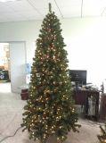 Árvore de Natal de Pve do PE com luz do diodo emissor de luz (vário tamanho disponível)