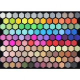 Palet 125 van de oogschaduw Kleuren schittert de Make-up Vastgestelde Es0309 van de Oogschaduw van het Effect van de Steen