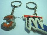 승진 선물을%s 최신 판매 판지 PVC Keychain 열쇠 고리