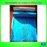 Le HDPE C-Plié par tailles importantes met en sac les sacs d'ordures en plastique avec l'étiquette