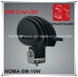 2 diodo emissor de luz da luz do trabalho do diodo emissor de luz da polegada 10W fora da luz de condução do diodo emissor de luz da luz da estrada