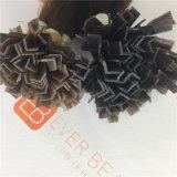 Extensions chaudes de la meilleure qualité de cheveux humains d'extrémité de la fusion V