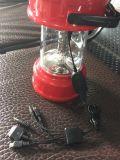튼튼한 두 배 태양 전지판 LED 야영 손전등