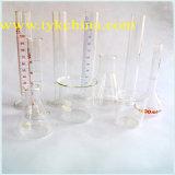 Cylindre de condenseur avec joints de sol pour laboratoire par verre de borosilicate