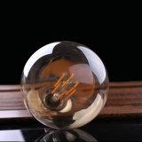 型LEDの長いフィラメントの球根の金の色合いのエジソンの地球様式