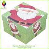 Color regalo de Navidad Caja de cartón rígido