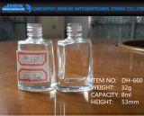 8 Ml esvaziam os frascos de vidro da arte do polonês de prego/verniz/prego