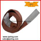 imbracatura piana 4t X 6m della tessitura del poliestere personalizzata 4t