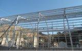 Helle Stahlrahmen-Aufrichtung-vorfabrizierte Werkstatt