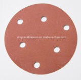 Disco di smeriglitatura del Velcro dell'ossido di alluminio
