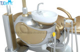 Cadeira dental da unidade do sistema Multifunctional luxuoso do implante do projeto do ouro (Gold-8)