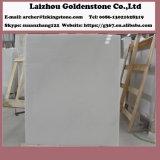 床デザインのための白いカラー雪の白い大理石の平板