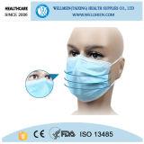 Chirurgische Wegwerfgesundheitspflege-nichtgewebte Gesichtsmaske