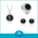 CZ (J-0005)와 가진 높은 Quality Handmade 925 Sterling Silver Jewelry Set