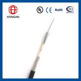 Cable óptico de fibra con la capa acorazada Gyxs