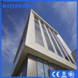 El panel plástico de aluminio sólido de PVDF para la pared de cortina