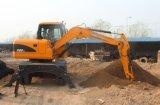 escavatori della rotella di 5t 6t 8t 10t 12t con l'iso del Ce