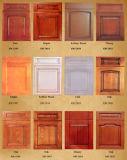 Mobília personalizada Yb1706114 da HOME do gabinete de cozinha da madeira contínua de Brown