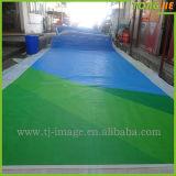 Bandiera dell'interno & esterna poco costosa del tessuto del poliestere di stampa di Tingere-Sublimazione (TJ-AI1)