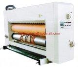 La máquina que corta con tintas rotatoria automática con Detrás-Golpea introducir con el pie