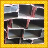 Pipe 6061 T6 en aluminium carrée