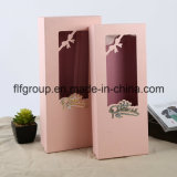 Caixa lisa da flor da caixa de papel da impressão do logotipo da promoção da qualidade superior