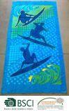 Baumwolle 100% Reactive Printed Beach Towel von Extreme Surf Design